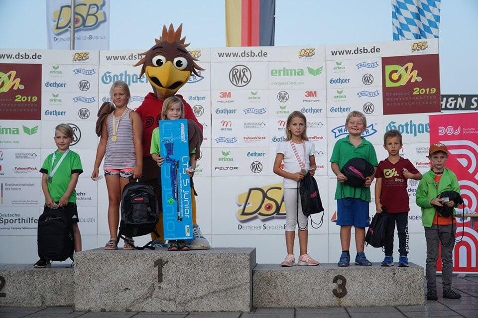 ERGEBNISSE: Deutsche Jugendmeisterschaften im Lichtschießen der Deutsche SchützenJugend, DISAG