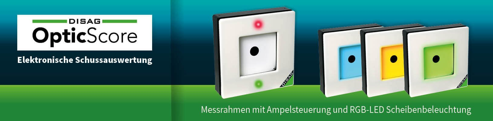 Messrahmen mit RGB-LED